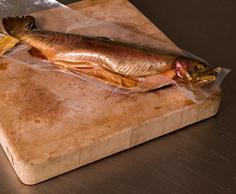 Hot Smoked Whole Trout