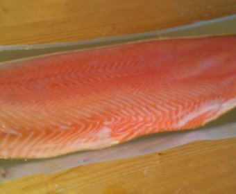 Smoked Salmon Pre-sliced 1kg Side